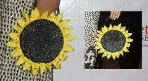 Студент-юрист из Алматы создал оригинальное платье из семечек