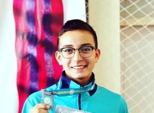 2 место на Чемпионате РК по каратэ среди юниоров