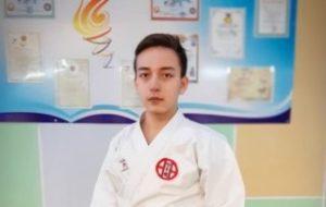 3 место на чемпионате РК по каратэ-до-Шито-рю