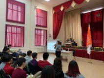 Алматы Марафон в колледже «Әділет»