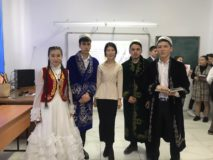 Литературно-музыкальный вечер, посвященный празднованию 175 летию Абая Кунанбаева